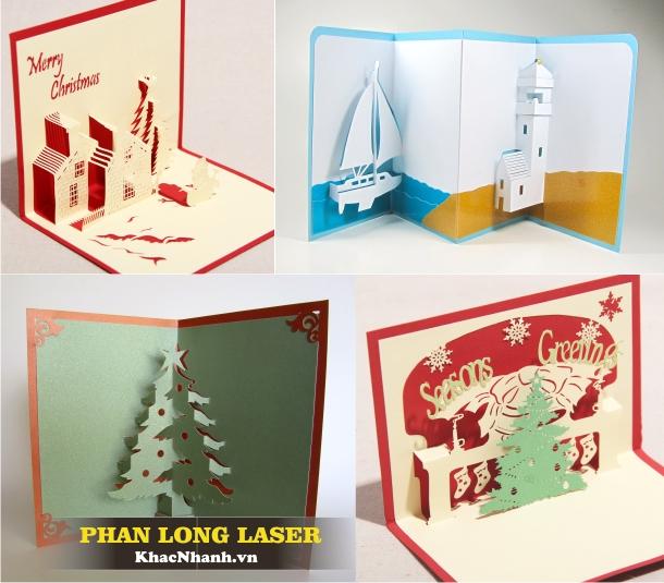 Địa điểm cắt giấy, cắt thiệp cưới, thiệp nổi 3D bằng Laser