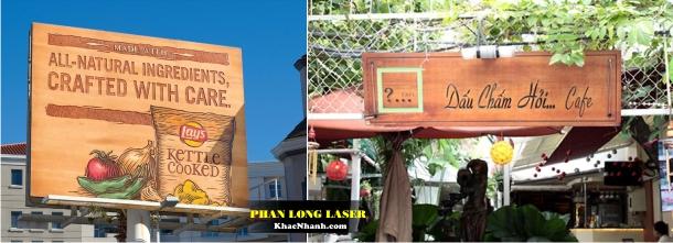 Địa chỉ nơi khắc Laser trên biển quảng cáo tại HN và TPHCM
