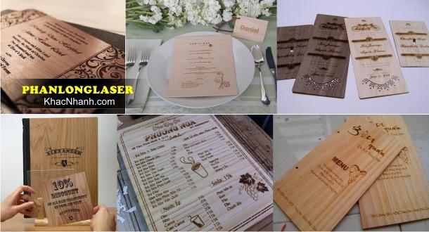 Cơ sở sản xuất menu theo yêu cầu tại Cầu Giấy Thanh Xuân HN