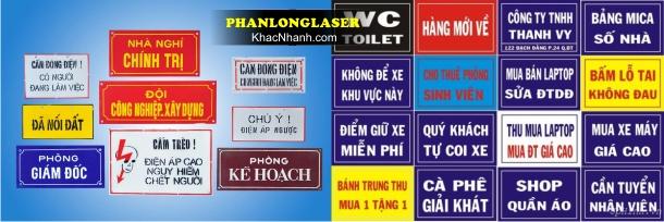 Công ty làm biển số nhà tại Sài Gòn HN Cần Thơ