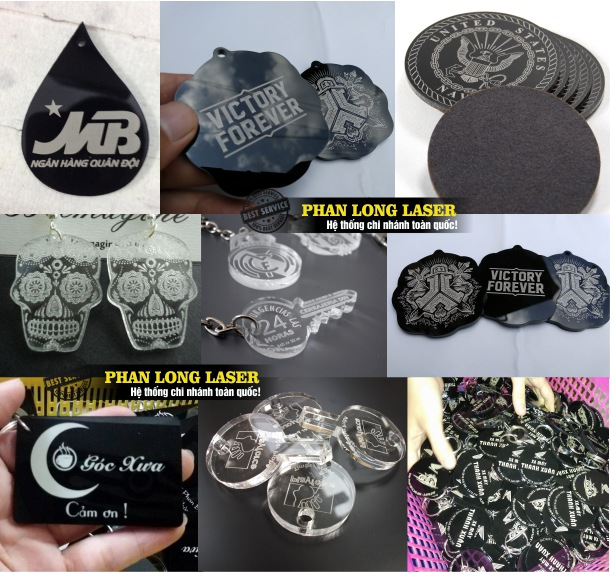 Xưởng sản xuất móc khóa nhựa, móc khóa mica khắc laser lên thân sản phẩm theo mọi yêu cầu tại Tp Hồ Chí Minh, Sài Gòn, Đà Nẵng, Hà Nội và Cần Thơ