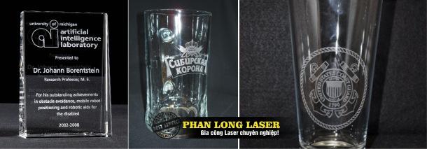 Khắc Laser thủy tinh và Pha Lê Quận 9, Quận 11, Bình Chánh, Bình Tân Sài Gòn