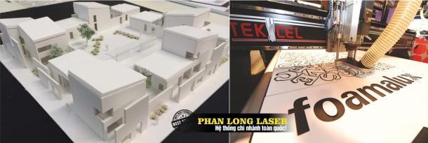 Địa chỉ Cắt Laser trên tấm Foamalux giá rẻ lấy liền tại Sài Gòn, Đà Nẵng, Hà Nội