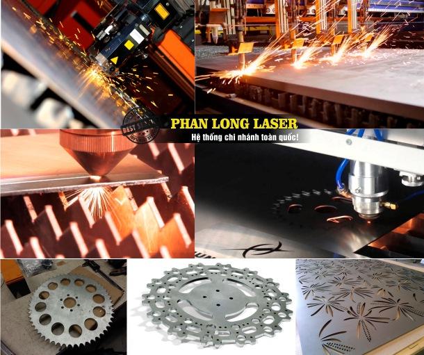 Địa chỉ cắt laser trên kim loại, inox, đồng nhôm, sắt thép, hợp kim theo yêu cầu giá rẻ