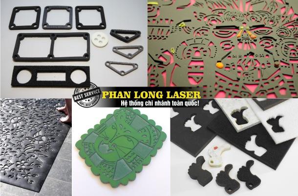 Cắt Nhiệt, Cắt Laser lên Nhựa và Cao su tại Sài Gòn, Hà Nội, Đà Nẵng, Cần Thơ
