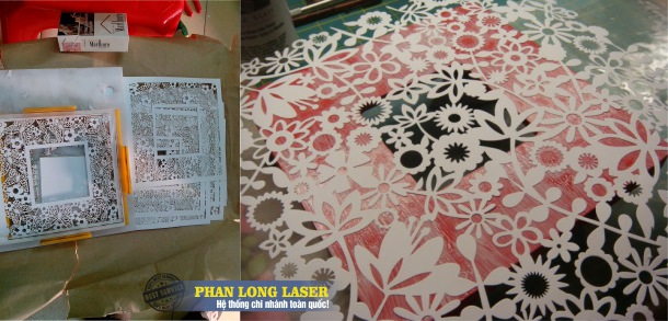 Thiệp cưới cắt Laser theo yêu cầu tại Tphcm và Hà Nội