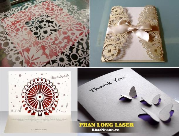 Cắt Thiệp cưới, cắt thiệp nổi 3D, cắt giấy tại TPHCM Hà Nội Cần Thơ