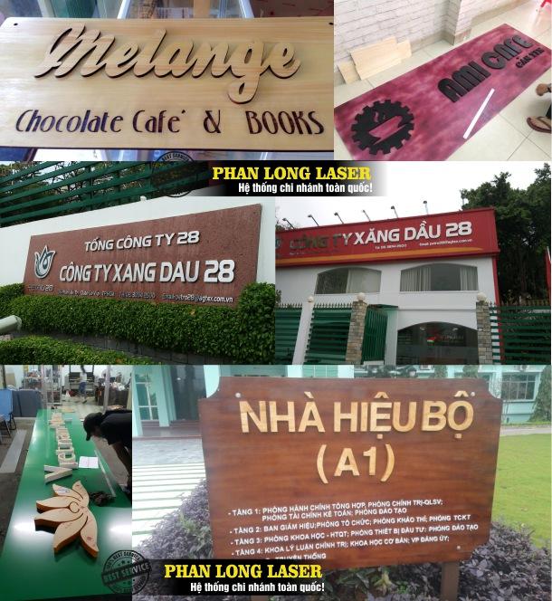 Địa chỉ cắt chữ gỗ nổi, cắt chữ kim loại inox, cắt chữ mica nổi theo yêu cầu tại Tphcm Sài Gòn, Đà Nẵng, Hà Nội và Cần Thơ