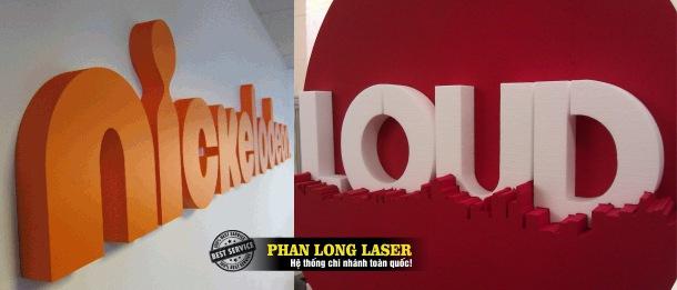 Xưởng cắt laser theo yêu cầu lên nhựa formex, mút xốp, nhựa xốp, foam theo yêu cầu giá rẻ