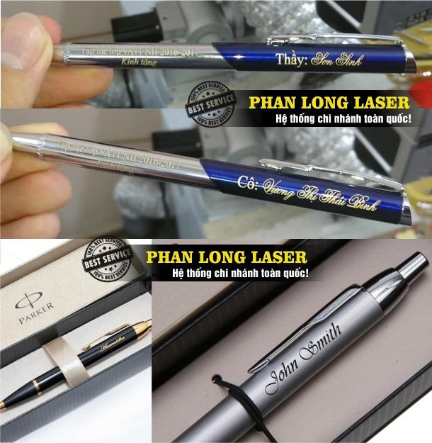 Địa chỉ khắc bút khắc chữ khắc tên bằng máy laser theo yêu cầu giá rẻ