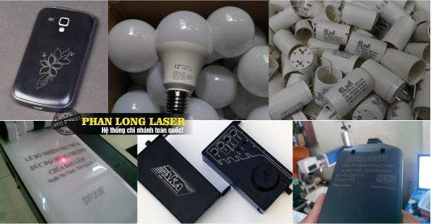 Địa chỉ Khắc Laser logo, khắc hoa văn, khắc mã vạch, khắc thông số lên nhựa và cao su
