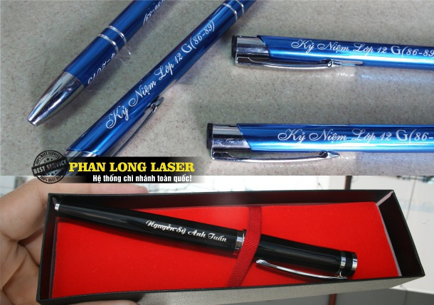 So sánh việc khắc bút viết bằng tay thủ công và khắc bằng máy CNC và Khắc Laser