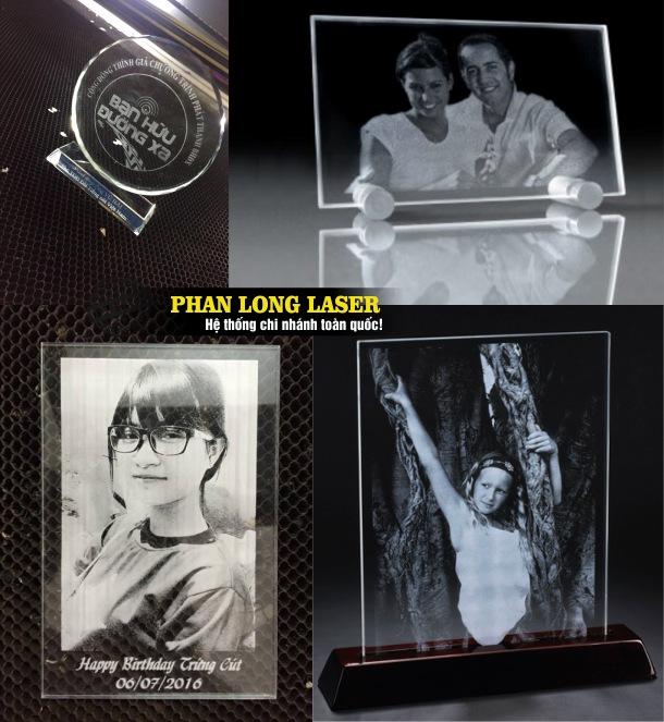 Khắc laser lên kỷ niệm chương, cúp thủy tinh pha lê tại Tp Hồ Chí Minh, Sài Gòn, Đà Nẵng, Hà Nội và Cần Thơ