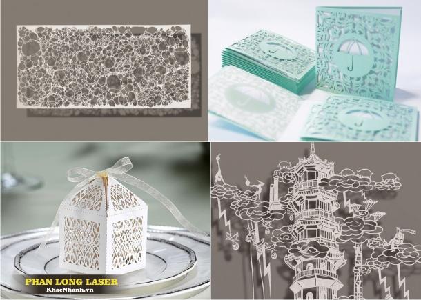 Địa chỉ Cắt Thiệp cưới thiệp nổi 3D, cắt giấy tại Thanh Xuân, Cầu Giấy, HN