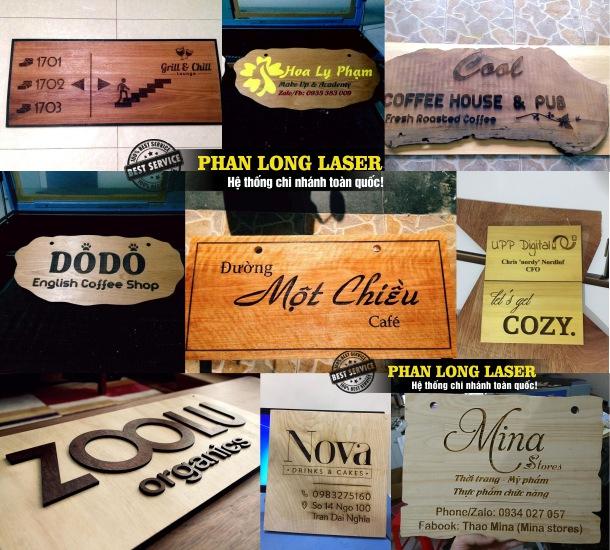 Địa chỉ chuyên thiết kế và làm biển hiệu quảng cáo bằng gỗ theo yêu cầu tại Tp Hồ Chí Minh, Sài Gòn, Đà Nẵng, Hà Nội và Cần Thơ