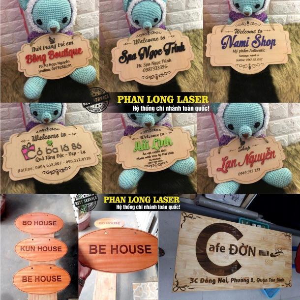 Xưởng sản xuất thiết kế và làm biển bảng quảng cáo bằng gỗ tại Tp Hồ Chí Minh, Đà Nẵng, Hà Nội và Cần Thơ