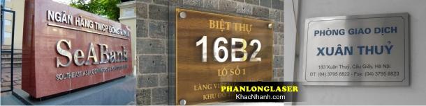 Địa chỉ Làm biển số nhà tại Thanh Xuân Hà Nội
