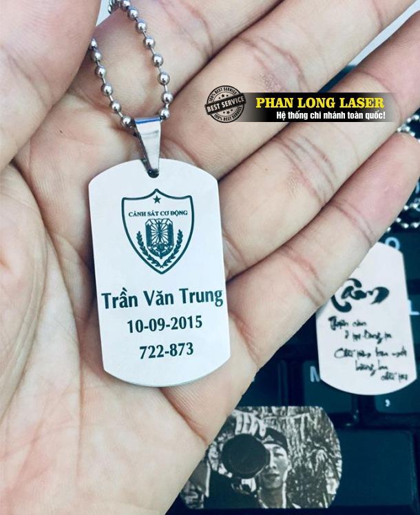 Xưởng sản xuất làm thẻ bài dogtag thẻ tên quân đội lính Mỹ tại Tp Hồ Chí Minh, Hà Nội, Đà Nẵng, Cần Thơ