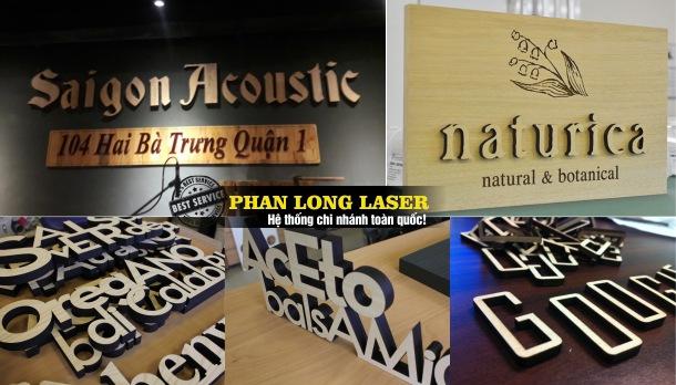 Địa điểm làm biển quảng cáo chữ nổi bằng gỗ tại Sài Gòn, Đà Nẵng, Hà Nội, Cần Thơ