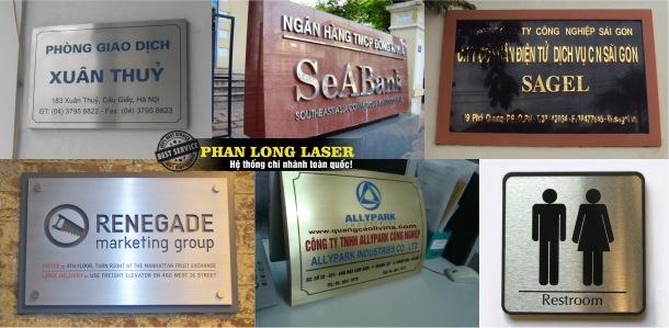 Địa chỉ Làm Biển Quảng cáo kim loại, làm biển quảng cáo chữ nổi kim loại ở đâu lấy nhanh lấy liền