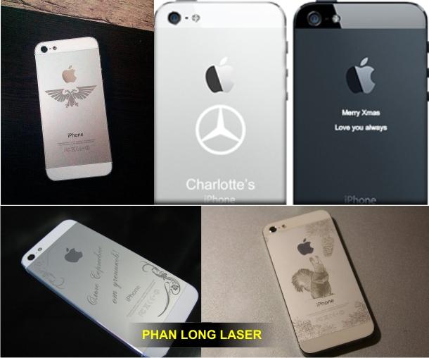 Địa chỉ khắc laser lên Iphone tại TPHCM